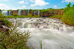 Draynur fall. Dray Nur waterfall is a large and majestic waterfalls of Daklak province, Vietnam Royalty Free Stock Photography