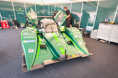 Drayson Le Mans elektryczny pojazd Fotografia Stock