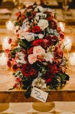 Drcoration di nozze fotografie stock