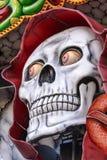 Dreadful skull at Oktoberfest, Stuttgart Stock Photo