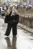 Dreadful wild mask at Carnival parade, Stuttgart Royalty Free Stock Image