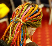 dreadlocks Photographie stock