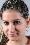 Dreadlocks hairdress Stock Photo