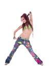 Dreadlocks Hippie Girl Royalty Free Stock Photo