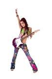 Dreadlocks Hippie-Schalthebel lizenzfreies stockfoto