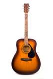 Dreadnought akoestische gitaar Stock Afbeeldingen