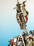 Dreadnought model. Warhammer hand painted by my freind.if any of my images are used please let me know were so i can view them.thanks Royalty Free Stock Photography