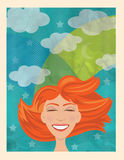 Dream royalty free illustration