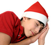 Dream. Christmas teen royalty free stock images