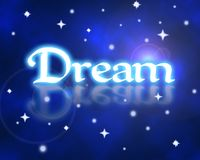 Dream. Graphic image representing a dream state Stock Images