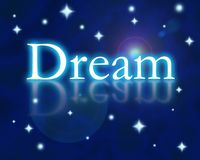 Dream. Graphic image representing a dream state Royalty Free Stock Images