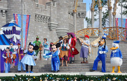 Dream Along with Mickey Show in Disney World stock photos