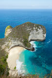 Dream Bali Manta Point Diving place at Nusa Penida island Royalty Free Stock Photography