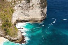 Dream Bali Manta Point Diving place at Nusa Penida island Stock Image