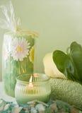 Dream Bath Objects Spa Retreat Stock Photo