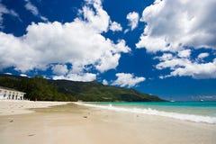 Dream beach. A dream beach on Seychelles Stock Photo