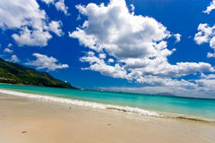 Dream beach. It is a dream or real Royalty Free Stock Photography