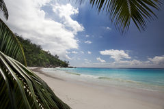 Dream Beach - Anse Georgette Royalty Free Stock Image