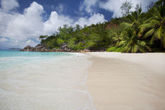 Dream Beach - Anse Georgette Stock Photography