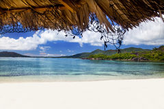 Dream Beach -Curieuse Island Royalty Free Stock Image
