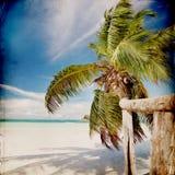 Dream Beach Grunge Background Stock Photos
