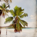 Dream Beach Grunge Background Royalty Free Stock Images