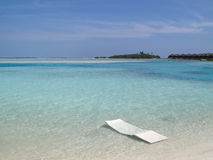 Dream beach on the Maldives Royalty Free Stock Images