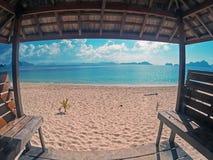 Dream beach Stock Image