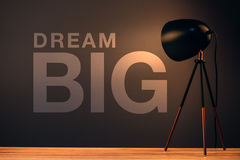 Dream big, business concept Stock Image