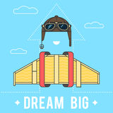 Dream big concept Royalty Free Stock Image