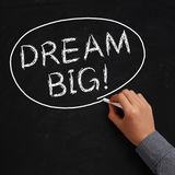 Dream Big! Stock Photography