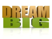 Dream big Stock Photo