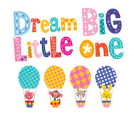 Dream big little one Royalty Free Stock Photos