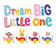 Dream big little one Stock Photography