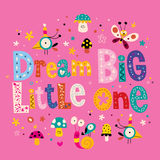 Dream big little one Royalty Free Stock Photo