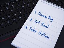 Dream big 10 Stock Images