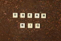 Dream big Royalty Free Stock Images