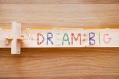 Dream big. Stock Image