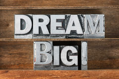 Dream big tray Stock Image