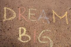 Dream big Stock Image