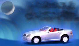 Dream car concept 2. Dream toy car concept image Royalty Free Stock Photos