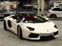 Dream car Lamborghini aventador Royalty Free Stock Photos