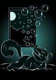 Dream cat Stock Images