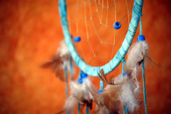 Dream catcher. Native american dream catcher detail Royalty Free Stock Photography