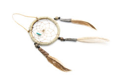 Dream catcher. Isolated on white background Royalty Free Stock Image