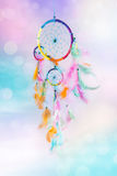 Dream catcher and abstract background Stock Images