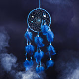 Dream catcher on a black background Stock Images