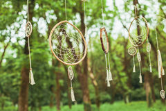 Dream catcher decor Stock Images