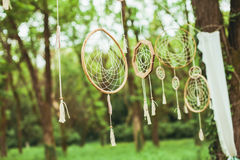Dream catcher decor Stock Photos