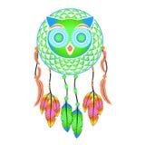 Dream Catcher decorative owl Stock Photos